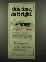 1974 Holland America Cruises Ad - This Time Do it Right
