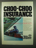 1974 Home Insurance - Choo-Choo Insurance - Chattanooga