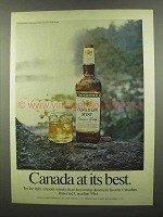 1974 Canadian Mist Whisky Ad - At Its Best