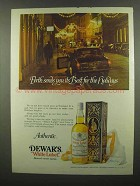 1974 Dewar's White Label Scotch Ad - Perth Sends