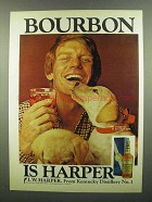 1974 I.W. Harper Bourbon Advertisement