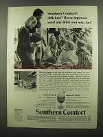 1974 Southern Comfort Ad - Delicious Flavor