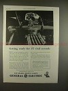 1943 WWII GE Mazda Photolamps Ad, AT-11 Bombing Trainer