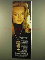 1974 Sarah Coventry Jewelry Ad - Lynda Day George