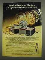 1974 Planters Nuts Ad - Here's a Flash From
