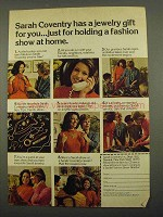 1974 Sarah Coventry Jewelry Ad - Has A Gift For You