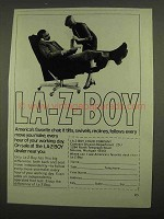 1974 La-Z-Boy Chair Ad - America's Favorite