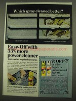 1974 Easy-Off Oven Cleaner Ad - Which Cleaned Better