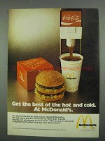 1974 McDonald's Big Mac & Coca-Cola Ad - Hot and Cold