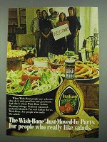 1974 Wish-Bone Italian Dressing Ad - Just-Moved-In