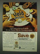 1974 Gold Medal Flour Ad - Master Mix for Cookies