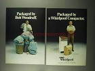 1974 Whirlpool Compactor Ad - Packaged By