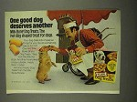 1974 Milk-Bone Dog Treats Ad - One Good Dog Deserves