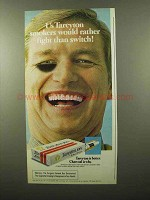 1975 Tareyton Cigarettes Ad - Rather Fight
