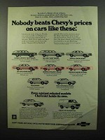 1975 Chevy Ad - Caprice Estate, Bel Air Wagon, Impala