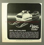 1972 Polaris TX 500 Limited Snowmobile Ad - Challenge!!