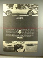 1973 Maserati Merak Ad, There Are Cars & There Are Cars