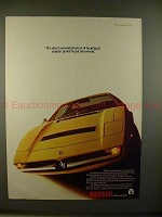1975 Maserati Merak Car Ad - Sheer Sensual Pleasure!!