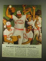 1975 Puerto Rico Economic Development Ad - Team Spirit