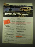 1975 Winnebago Motor Home Ad - Homeowners Plan