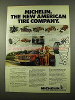 1975 Michelin Tires Ad - The New American Company