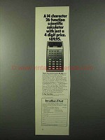 1975 Texas Instruments SR-50A Calculator Ad
