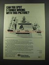1975 Pitney Bowes Mailing Systems Ad - 5 Things Wrong
