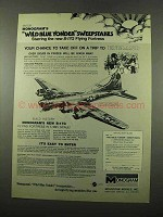 1975 Monogram B-17G Flying Fortress Model Ad