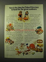 1975 Fisher-Price Toys Ad - Safari, Snoopy Sniffer