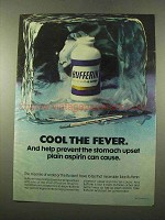 1975 Bufferin Medicine Ad - Cool the Fever