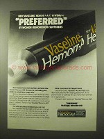 1975 Vaseline Hemorr-Aid Ad - Preferred