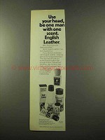 1975 English Leather Ad - Use Your Head