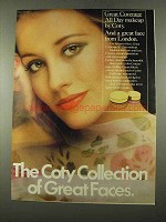 1975 Coty Great Coverage All Day Makeup Ad, Great Faces