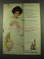 1975 Helena Rubinstein Sheer Care Lipstick Ad