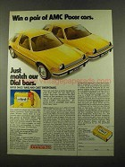 1975 Dial Soap Ad - Win a Pair of AMC Pacer Cars