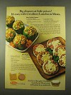 1975 Gwaltney Luncheon Meats Ad - Meat stuffed peppers