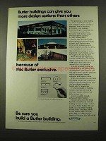1975 Butler Buildings Ad - More Design Options