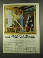 1975 Andersen Windowalls Ad - Don't Make Mistake