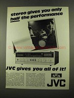 1975 JVC 5456X Receiver Ad - Stereo Half Performance