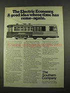 1975 The Southern Company Ad - Electric Economy