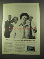 1975 Employees Insurance of Waussau Ad - She Listens