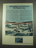 1975 Employees Insurance of Waussau Ad - Neighbors