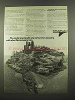 1975 Grumman Corporation Ad - Start Your Own Country