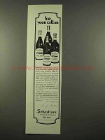 1975 Sebastiani Vineyards Wine Ad - Pinot Noir, Barbera