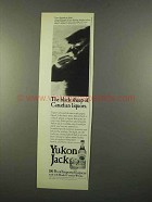 1975 Yukon Jack Liqueur Ad - The Black Sheep