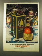 1975 Courvoisier Cognac Ad - Open More Than Once