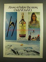 1975 Seagram's V.O. Canadian Whisky Ad - The Snow