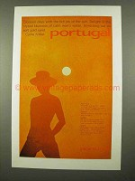 1975 Portugal Tourism Ad - Glorious Days Hot Joy of Sun