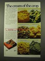 1975 Stouffer's Side Dishes Ad - Cream of the Crop