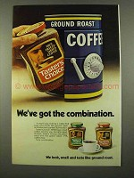 1975 Taster's Choice Coffee Ad - Got the Combination